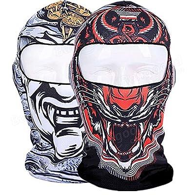 Frontier 3d Schädel Radsport Motorradvollgesichts Kini ski Sturmhaube Maske UV-Schutz Vollmaske