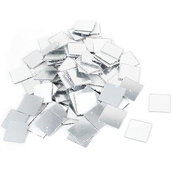 3d adesivo da parete specchio a mosaico soggiorno for Decorazioni adesive