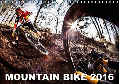 Preisvergleich Produktbild Mountain Bike 2016 by Stef. Candé (Wandkalender 2016 DIN A4 quer): Einige der besten Mountainbike-Action-Fotos von Stef. Candé! (Monatskalender, 14 Seiten) (CALVENDO Sport)