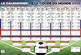 Calendrier de la Coupe du monde 2018 - Russie Football (101,5cm x 68,5cm)