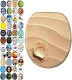 WC Sitz mit Absenkautomatik, viele schöne WC Sitze zur Auswahl, hochwertige und stabile Qualität aus Holz (Clam)