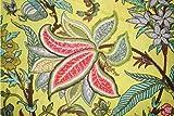 Ramdev Handarbeit aus 100% reiner Baumwolle in Rosa, Braun