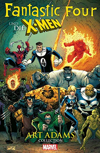 Fantastic Four und die X-Men: Die Art Adams Collection