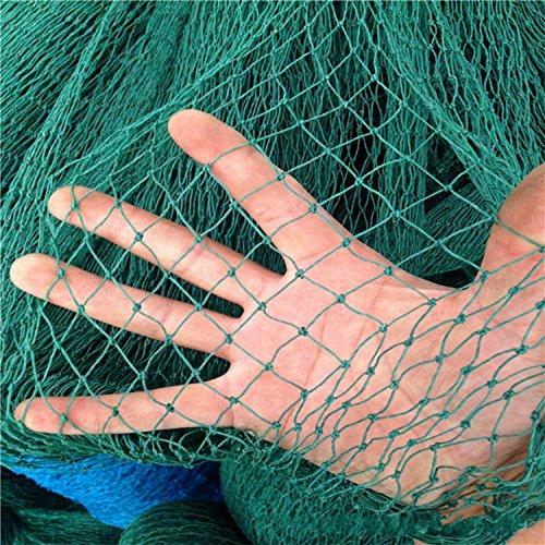 Mitefu Mehrzweck PE Pflanzen Spalier Netz Schwerlast Garten Netting Geflügel Zuchtnetz Anti-Vogel-Tennisplatz-Netz,6 Stränge,Netting Größe:W1.5xL18m,Maschenweite:3x3cm (Mag-zaun)