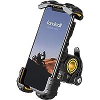 Lamicall Supporto Telefono Bicicletta, Metallico Supporto Motociclo - Manubrio Supporto Cellulare per iPhone 12 Mini, 12…