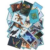 Panini - Dragons 3 Das Buch der Drachen - 50 Sammelsticker gemischt - keine doppelten Bilder - Deutsche Ausgabe