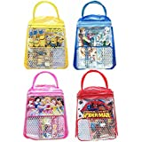 ANG Birthday Party Return Gifts Stationery Bag Set For Kids Birthday Party Set Of 12 (Multi Color)