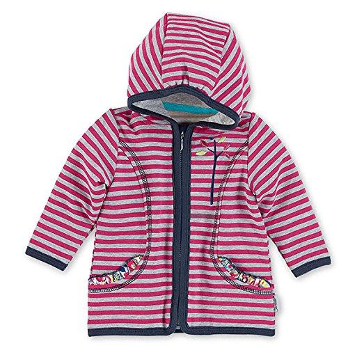 Sterntaler Baby-Mädchen Kapuzenpullover 2621621, Rosa (Magenta 745), 62