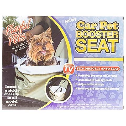 Folding Dog Travel Booster Bag Cat Puppy Pet Car Seat