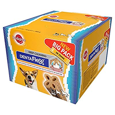 Pedigree DentaFlex Deep Cleaning Big Pack – 9 Chews – Dental Care for Dogs from Pedigree