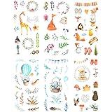 Falary Demi Stickers Bullet Journal Accessoires Gommettes Autocollants pour Scrapbooking Loisirs Creatifs Materiel Activites