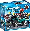 Playmobil 6879 - Ganoven-Quad mit Seilwinde von Playmobil