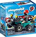 Playmobil 6879 - Ganoven-Quad mit Seilwinde