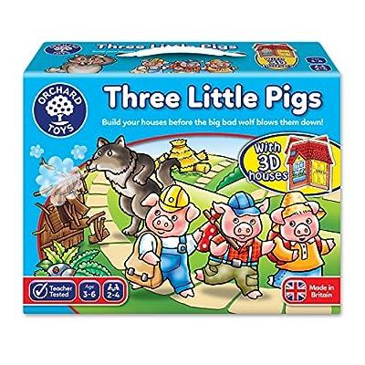 Orchard Toys - Orch081 - Jeu De Société Éducatif - Trois Petits Cochons