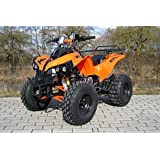 Kinder Quad S-10 125 cc Motor Miniquad 125 ccm orange Warriorer