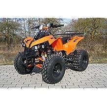 Kinder Quad S-10 125 cc Motor Miniquad 125 ccm orange Warriorer