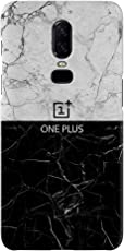 Koveru Designer Printed Back Cover Case For Oneplus 6 (Grey)