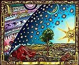 """Flammarion Poster 33.1"""" x 23.4"""" (affiche de la terre plate)"""