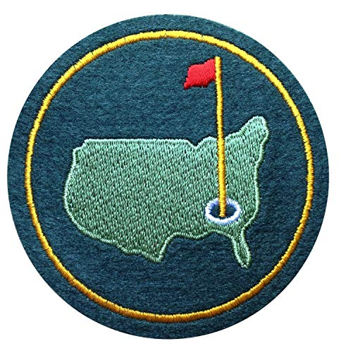 Augusta Golf Masters Tournament National Golf Club Grüne Jacke Filz Aufnäher Badge Patch
