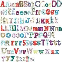Roommates RMK1776SCS - Autoadesivi riutilizzabili per la camera dei bambini, disegno lettere dell'alfabeto