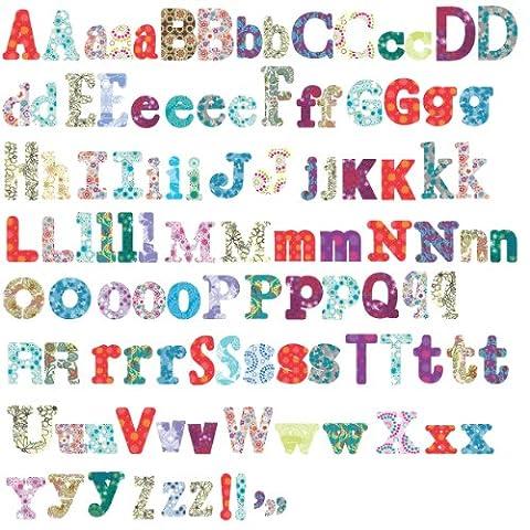RoomMates 54171 Boho Alphabet