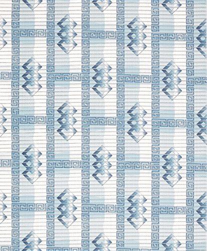 Badvorleger Aquamat Antirutsch Matte Bodenbelag, Bad Garten Küche, Luxery Blau, Größe wählbar (110x65 cm)