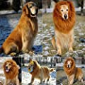 edealing(TM) Pet Costume Lion Mane Wig For Large Dogs Cat Fancy Dress Up Halloween Festival Clothes Can Be Adjustable