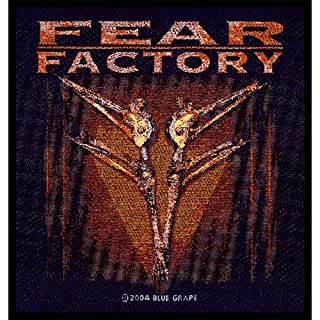 Fear Factory - Patch Archetype (in 9 cm x 9 cm)