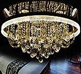 Kristall-Leuchter Deckenleuchte Deckenlampe Kronleuchter Lüster LED Wohnzimmer
