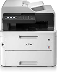 Brother MFC-L3750CDW Kompaktes 4-in-1 Farb-Multifunktionsgerät, weiß
