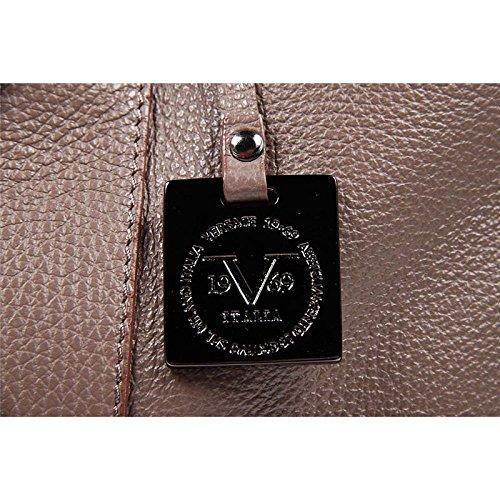Sac deux poignées homme Versace 19.69Habillement sportif Milano evb210156 Marron