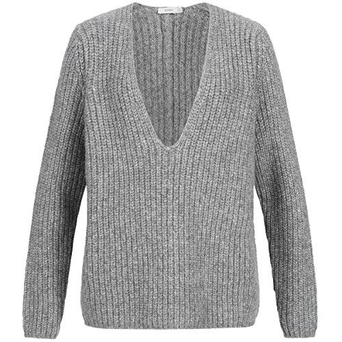 Pullover S grau