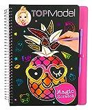 Depesche 10024 - Malbuch Magic Scratch Book, Topmodel