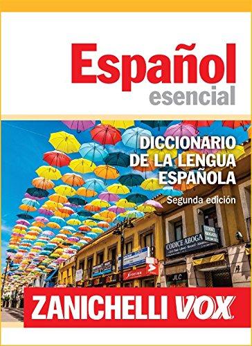 Español esencial. Diccionario de la lengua española