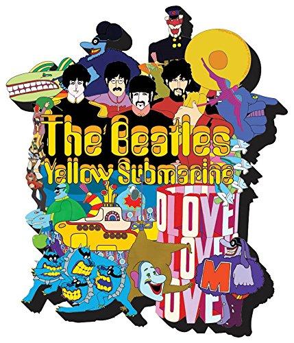 Yellow Submarine Beatles: Chunky Magnet - Beatles Yellow Submarine Magnet