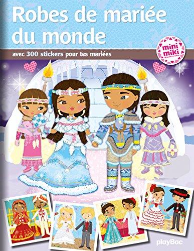 MInimiki - Robes de mariée du monde - Stickers