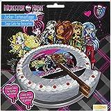 Dekoback Tortenaufleger Monster High 1, 1er Pack (1 x 55 g)