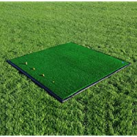 Net World Sports FORB Driving Range Golf Übungsmatte (150cm x 150cm) (Optional mit Anti-Rutsch Gummibasis) – Üben wie die Profis mit Dieser Abschlagmatte