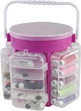 210 PCS - Sewing Caddy with Storage