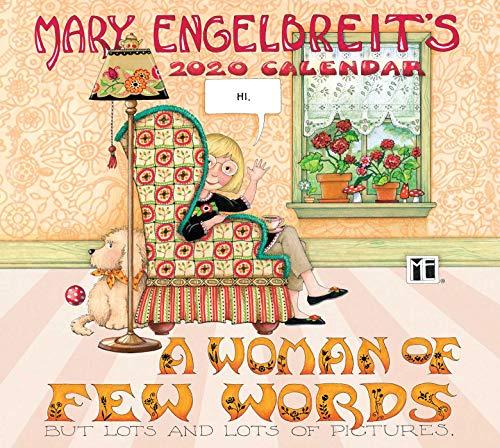 Mary Engelbreit Deluxe 2020 Calendar: A Woman of Few Words
