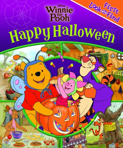 First Look and Find: Winnie the Pooh: Happy Halloween (Pooh Halloween Happy The Winnie)