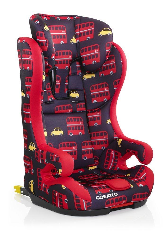 Cosatto Hubbub Isofix Car Seat Group 1 2 3, 9-36 kg, Hustle Bustle  Cosatto