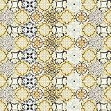 Pag Creative Selbstklebend PVC Tile-Like Vintage Sechskant Aufkleber für die Wohnzimmer Küche Badezimmer Wand Boden Dekorativ Aufkleber 205m (20x 500cm) Hts003