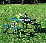 Outsunny-Ensemble-Table-de-Camping-Pique-Nique-Portable-2-Tabourets-Pliantes-85L-x-65l-x-66Hcm-Alu-Vert-Fonc-Neuf-02