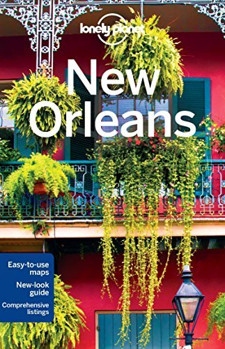 Portada del libro Lonely Planet New Orleans (Travel Guide) by Lonely Planet (2015-11-24)