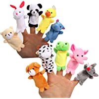 Foys Animal Finger Puppets Set of 10