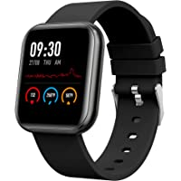 Helix Timex Metalfit SPO2 smartwatch with Full Metal Body and Touch to Wake Feature, HRM, Sleep & Activity Tracker, 10…
