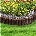 Cellfast Rasenkante, braun, 22 x 22 x 0.1 cm von Cellfast - Du und dein Garten