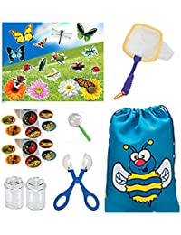 Bug Catcher Kit Bundle With Backpack, Tools, And Jars 8 Piece Set