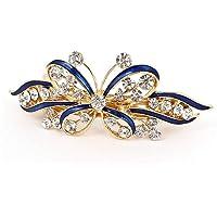 Clip di capelli da sposa gioielli da sposa fermagli Accessori per capelli decorazione di cristalli di cristallo…